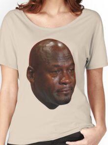 Crying Jordan Women's Relaxed Fit T-Shirt