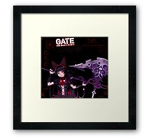 Rory Mercury: After Battle Stats Framed Print