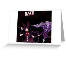 Rory Mercury: After Battle Stats Greeting Card
