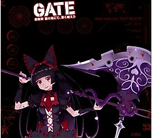 Rory Mercury: After Battle Stats Photographic Print