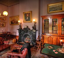 The Study - Werribee Mansion by Hans Kawitzki