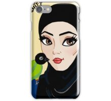 Peck on the cheek iPhone Case/Skin