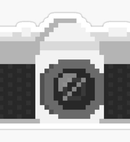Pixel Camera Sticker