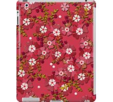 Floral texture with imitation glass.  iPad Case/Skin