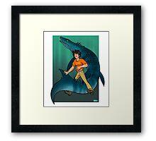 Ruler of the Seas Framed Print
