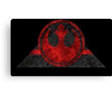 Rebel Alliance symbol desgin Canvas Print
