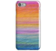 Abstract in Orange and Blue iPhone Case/Skin