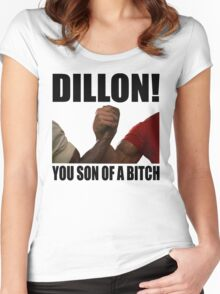 Predator Dillon You Son Of A Bitch Women's Fitted Scoop T-Shirt