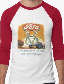 The Greatest Thrill In Motoring Men's Baseball ¾ T-Shirt