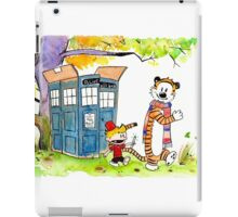 Adventure in Time & Space! iPad Case/Skin