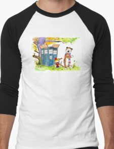 Adventure in Time & Space! Men's Baseball ¾ T-Shirt
