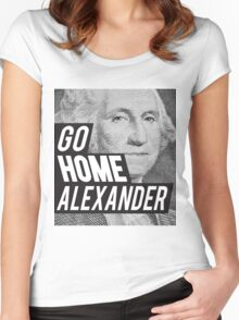 Go Home Women's Fitted Scoop T-Shirt