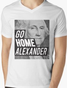 Go Home Mens V-Neck T-Shirt