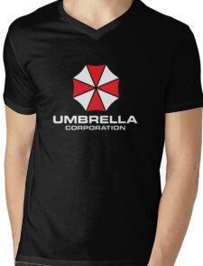 UMBRELLA CORPORATION Mens V-Neck T-Shirt