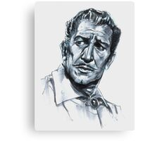Vincent Price - The Raven Canvas Print