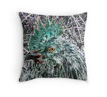 Chickens Rule  Throw Pillow