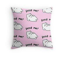 Feed Me! - Tubbs Throw Pillow