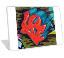 graffiti love Laptop Skin