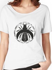 the devil makes three logo Women's Relaxed Fit T-Shirt