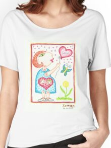 Pregnant  with twins Women's Relaxed Fit T-Shirt
