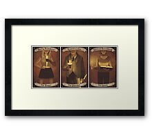 Buffy Occult Cards Framed Print