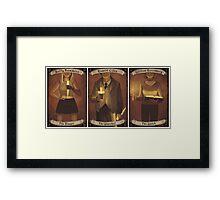 Buffy Occult Cards Framed Print