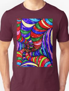 Stylized Art Background T-Shirt