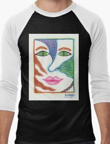 Abstract colorful girl portrait T-Shirt
