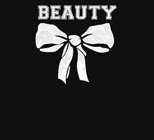 beauty love beast Women's Fitted V-Neck T-Shirt