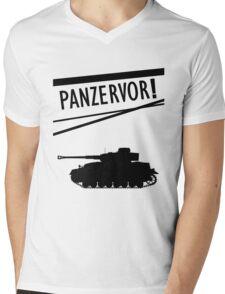 Panzervor! Mens V-Neck T-Shirt
