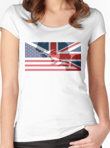 Audrey Made In Britain Women's Fitted Scoop T-Shirt