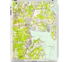 USGS TOPO Map Rhode Island RI East Greenwich 353279 1942 24000 iPad Case/Skin