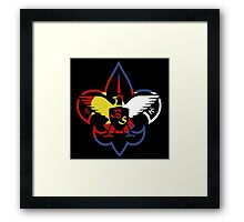 Bud Scouts Framed Print