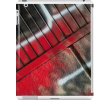 Graffiti - painting in black and red iPad Case/Skin
