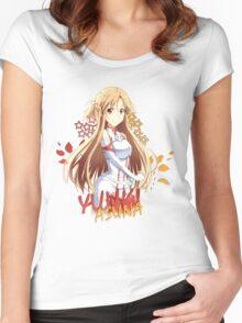 Sword Art Online - Yuuki Asuna Women's Fitted Scoop T-Shirt