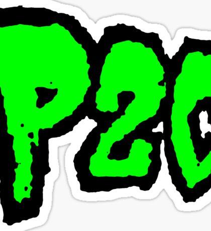 P2C - Green Logo Sticker