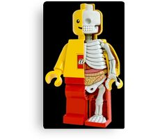 Lego - Lego Man - Anatomy Canvas Print