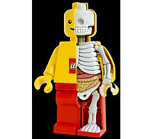 Lego - Lego Man - Anatomy Photographic Print