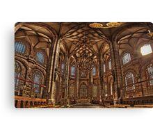 St. Lorenz Church St. Lorenz Kirche, Nuremberg Interior Canvas Print