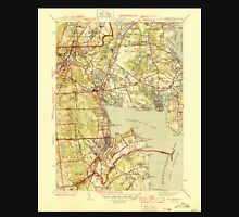 USGS TOPO Map Rhode Island RI East Greenwich 353412 1944 31680 T-Shirt