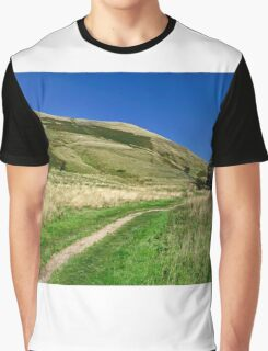Broadlee-Bank Tor from The Pennine Way Graphic T-Shirt