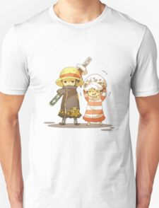 One Piece - Luffy and Law Unisex T-Shirt