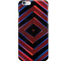 Retro diamond shapes pattern iPhone Case/Skin