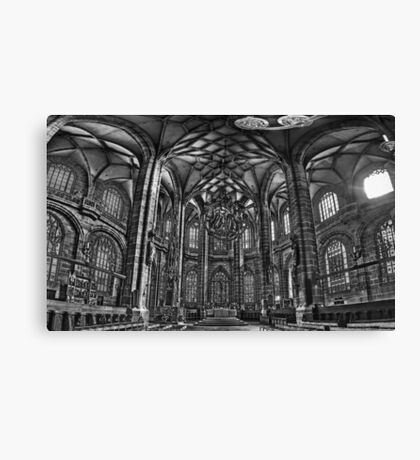 St. Lorenz Church (St. Lorenz Kirche), Nuremberg Germany Canvas Print