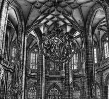 St. Lorenz Church (St. Lorenz Kirche), Nuremberg Germany Sticker