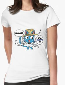 Fairy Tail - Happy Womens Fitted T-Shirt