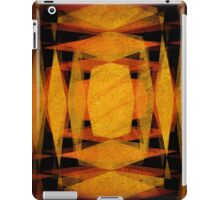 Retro diamond shapes pattern iPad Case/Skin