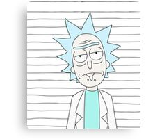Rick - The scientist Canvas Print