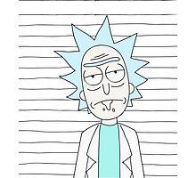 Rick - The scientist Photographic Print