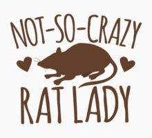Not-so-crazy RAT lady One Piece - Short Sleeve